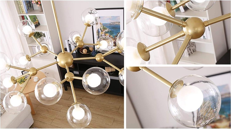 B/üro Dellemade Golden Sputnik Kronleuchter,12-Licht Globus Pendelleuchte f/ür Esszimmer Caf/é Wohnzimmer Restaurant,LED Gl/ühbirnen Enthalten K/üche