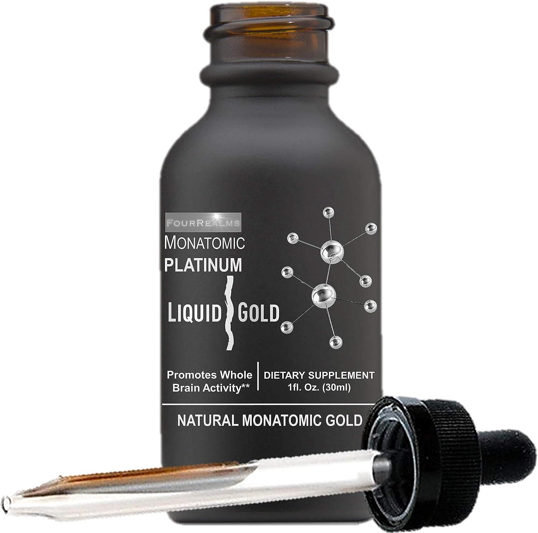 Mono Atomic ORMUS Gold - Monoatomic Platinum Gold, Monatomic Gold, Orme 1oz - Memory AID, Heal DNA, White Powder Gold, Increased Energy, Vitality - Gold, Platinum, Iridium