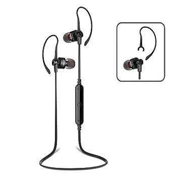 PROT3CH® Auriculares inalámbricos Bluetooth 4.0 con cancelación de ruido CVC 6.0 Sonido estéreo HD y