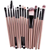 Amazon Price History for:DATEWORK 15 pcs/Sets Foundation Eyebrow Lip Brush Makeup Brushes (Gold)