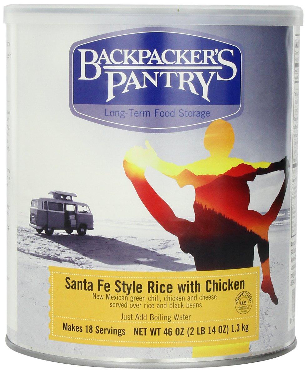 Backpacker'S Pantry - Santa Fe Reis mit Huhn, 46-Unze