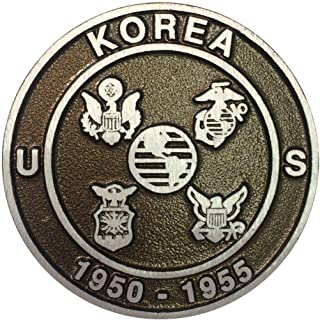 product image for Aluminum Grave Marker Korean War Veteran, Cemetery Memorial Flag Holder, Veteran Plaque, Made in USA