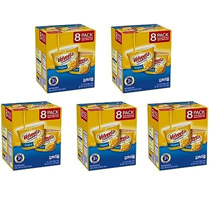 Velveeta conchas y queso Pasta, Original, Single Servir ...