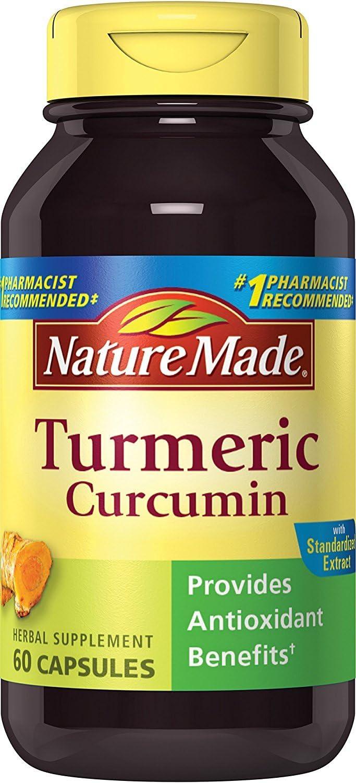 Pastillas De Curcuma Para Reducir La Inflamación Y El Dolor Poder Curativo Natural 60 Cápsulas Health Personal Care