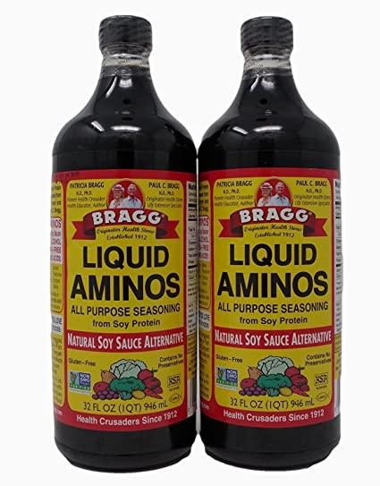 006c8690da Image Unavailable. Image not available for. Color  Bragg Liquid Aminos All  Purpose Seasoning Soy ...