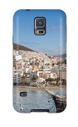 Amazon.com: New Style Tpu S5 Protective Case Cover/ Galaxy ...