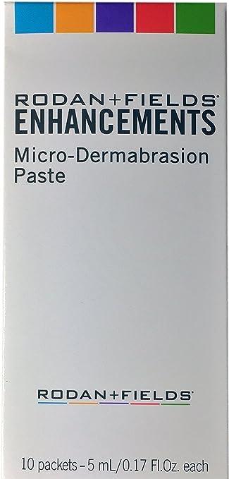 Rodan + Fields ENHANCEMENTS Micro-Dermabrasion Paste, 10 Packets, Factory Sealed