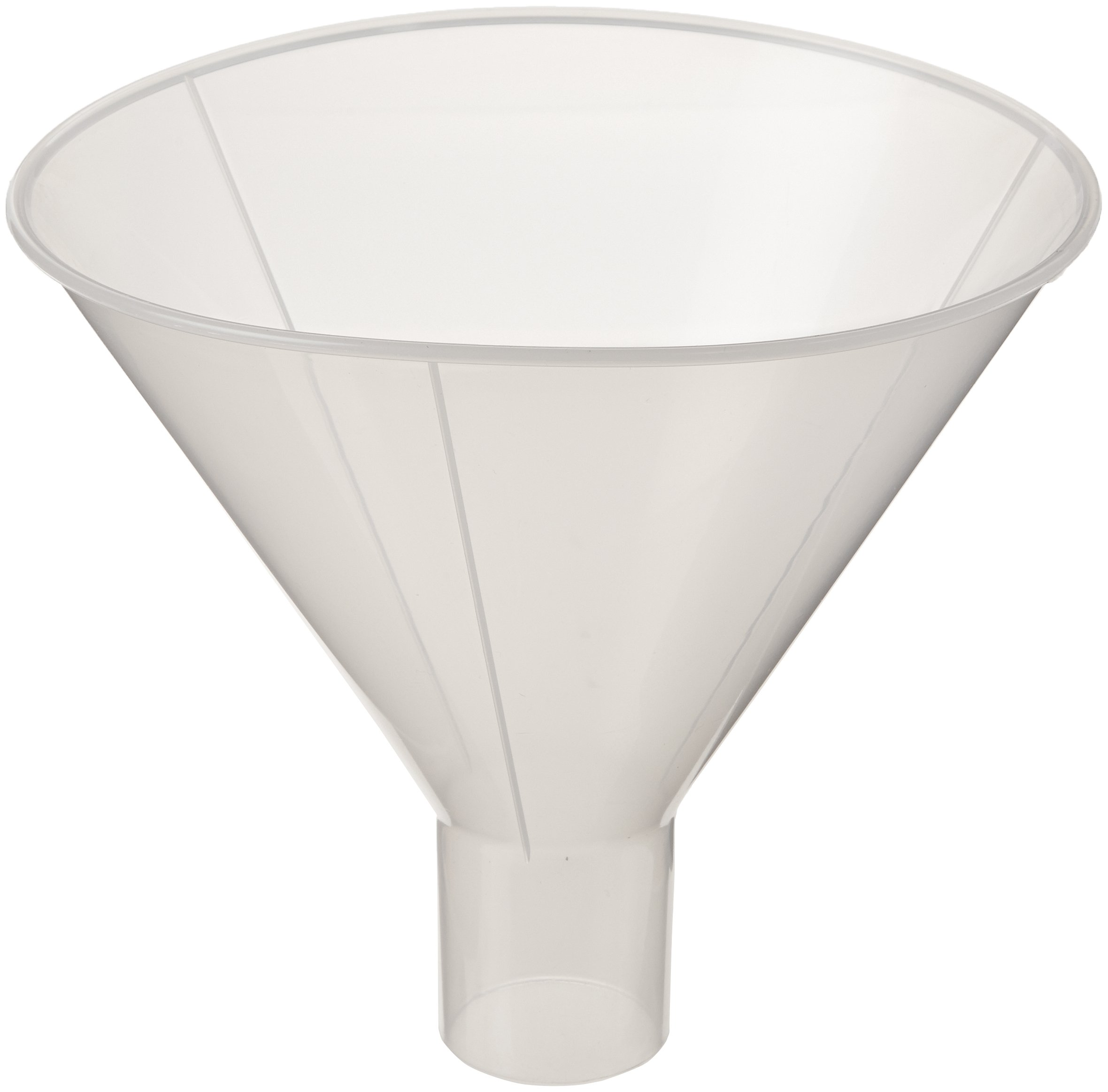 Globe Scientific 600166-1 Polypropylene Powder Funnel, 180mm Funnel Size, 180mm Top Diameter by Globe Scientific
