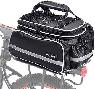 Selighting Bolsa Alforja Trasera Bicicleta Impermeable Bolso de Viaje Portátil Extensible Bolsa de Hombro para Ciclismo al Aire Libre 10L-25L: Amazon.es: Deportes y aire libre
