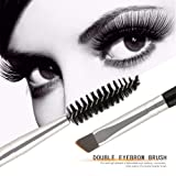 Double Ended Eyebrow Brushes Comb Set Eyebrow