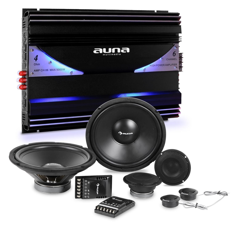 auna CS-Comp-12 Car-HiFi-Set Lautsprecher Set +: Amazon.de: Elektronik