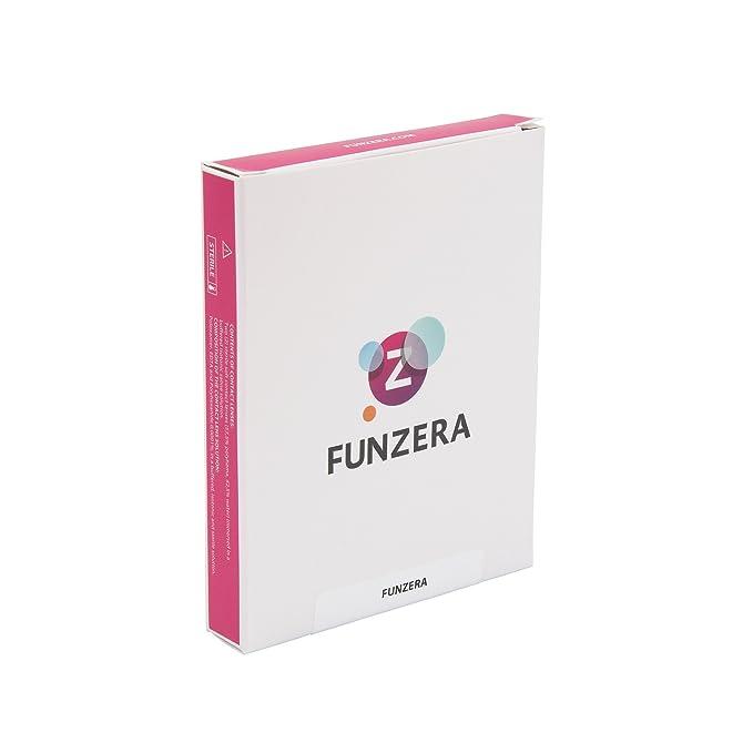 a1d574f70d FUNZERA®[Sharingan] Lentillas de Colores Naruto + recipiente para lentes de  contacto, sin dioptrías pack de 2 unidades - cómodas y perfectas para  Halloween, ...