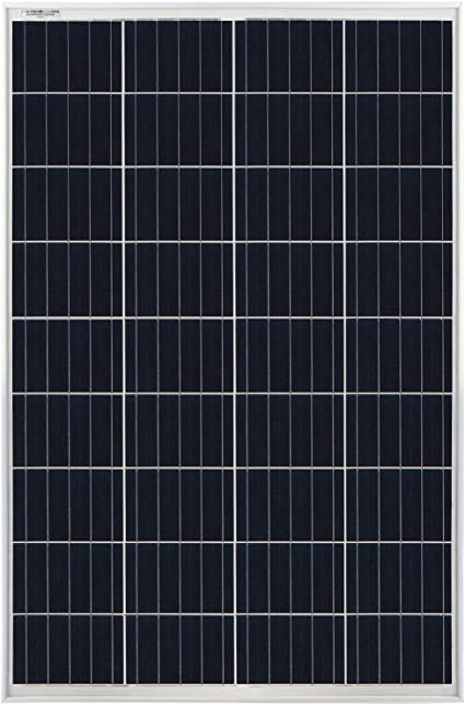 Mighty Max 100 Watts 100W Solar Panel 12V Mono Off Grid Battery Charger for RV