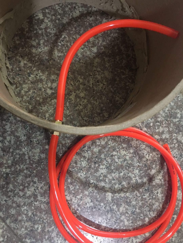 Joywayus 2pcs 1//4 ID Hose Barb Thru-Bulk Head Hex Union Brass Fitting with Flat Washer Gasket Water//Fuel//Air