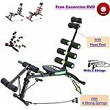 ABS Chaise Rocket Fitness abdominale Multi 6Sport d'entraînement pour abdominaux Banc Machine Home Gym Exercice Fitness formation