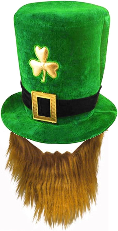 Disfraz de San Patricio, Leprechaun irlandés, sombrero de ...