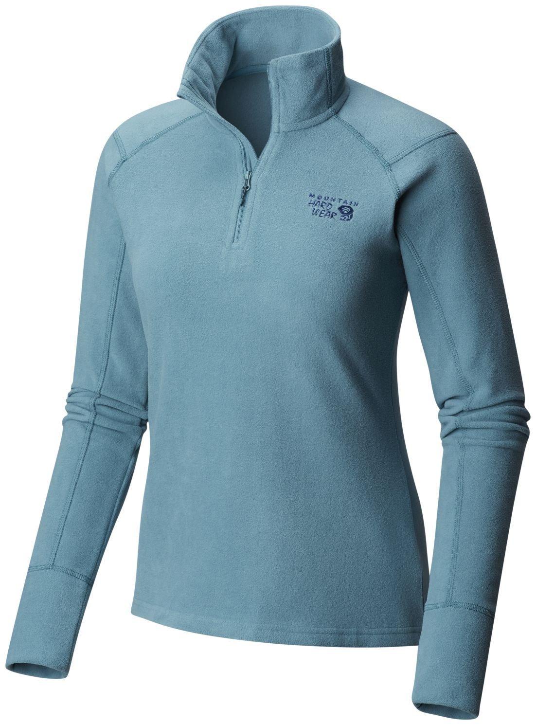 Mountain Hardwear Microchill 2.0 Zip T Jacket - Women's Lakeshore Blue Medium