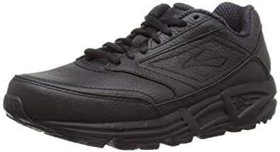Brooks Women's Addiction Walker Walking Shoe,Black,5.5 AA