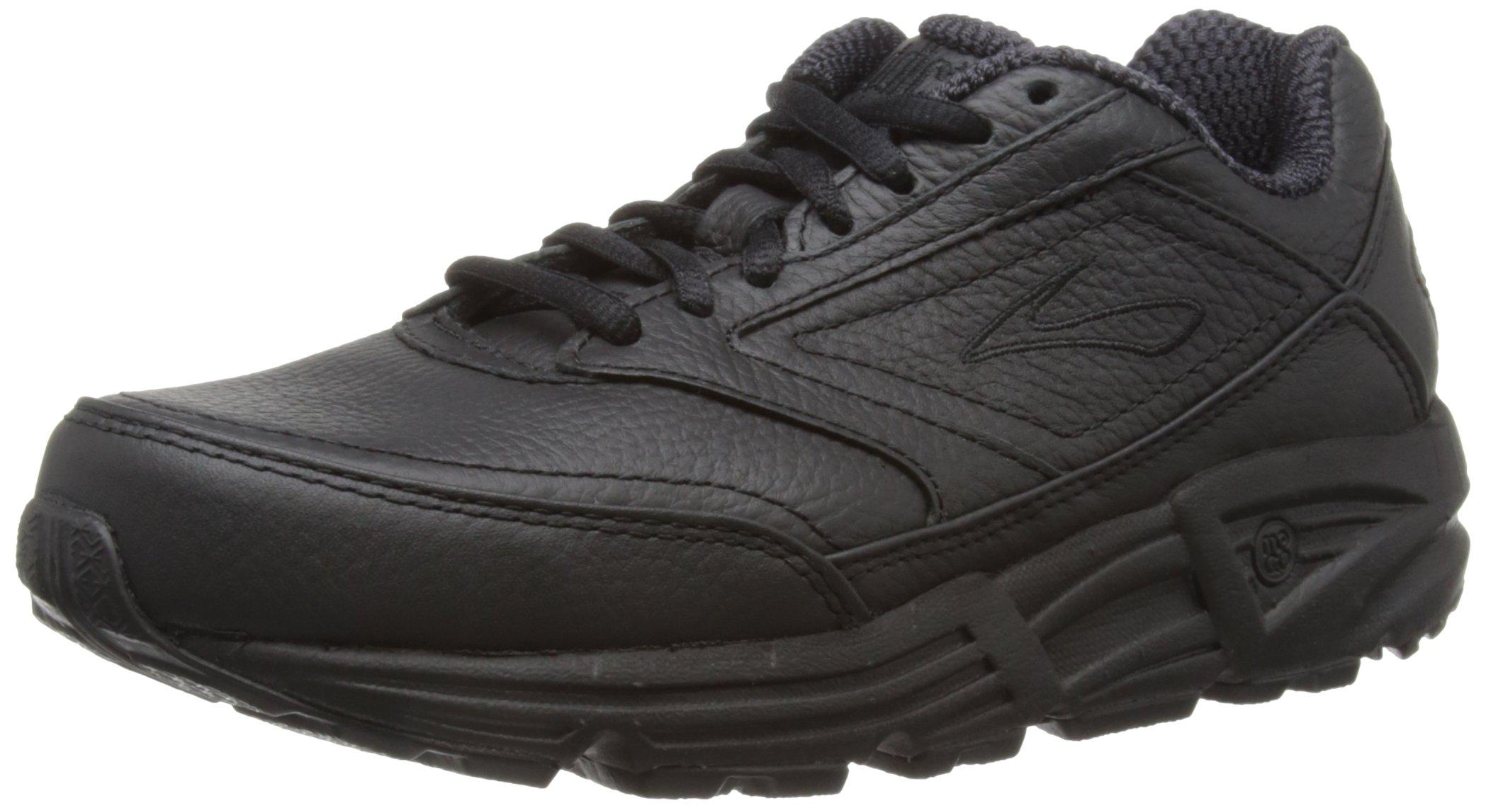Brooks Women's Addiction Walker Walking Shoe,Black,7.5 EE