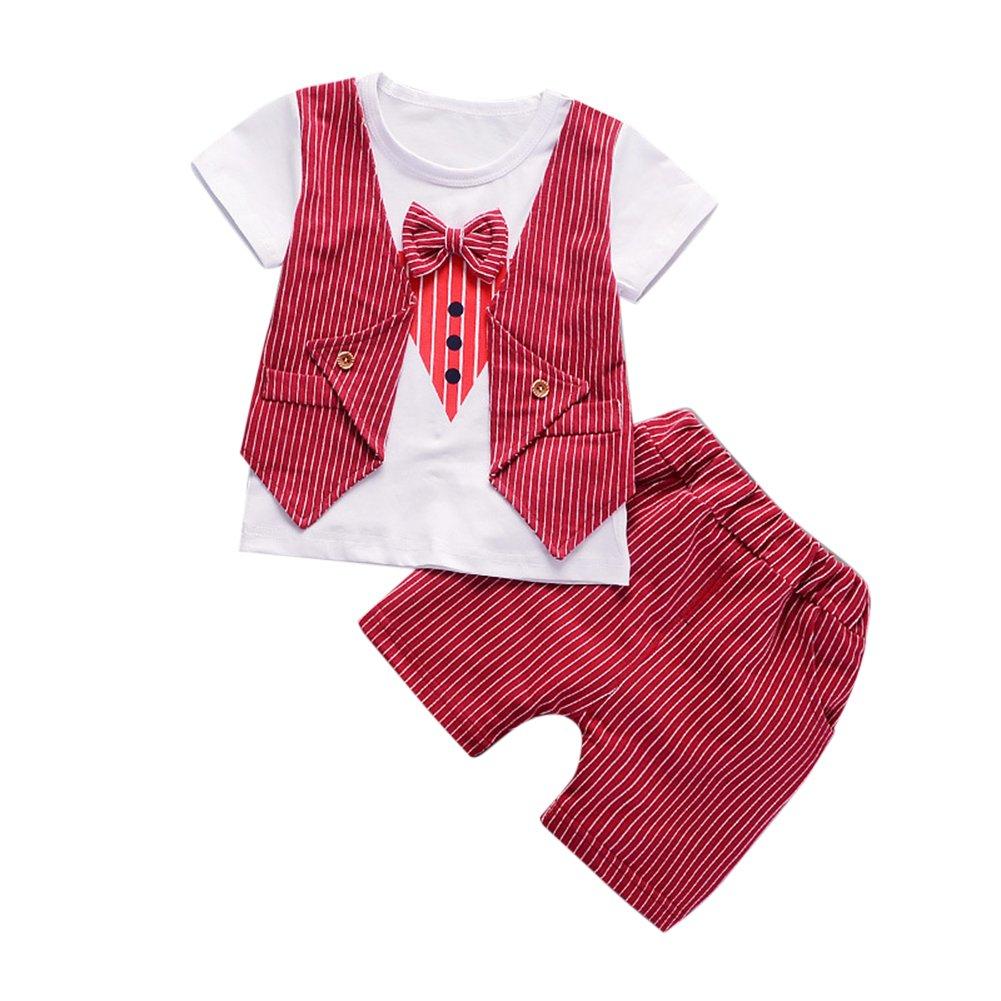 27fc55a21a5f6 Yiding - Ensemble - Bébé (fille) 0 à 24 mois Rouge Red  Amazon.fr   Vêtements et accessoires
