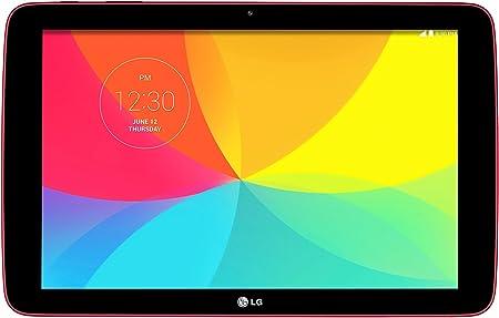 LG G Pad 10.1 V700 16GB Red - Tablet (Tableta de tamaño Completo, Android, Pizarra, Android, Rojo, Polímero de Litio)