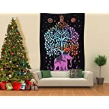 Amazon.com: CHICVITA Elephant Tapestry Wall Hanging Decor