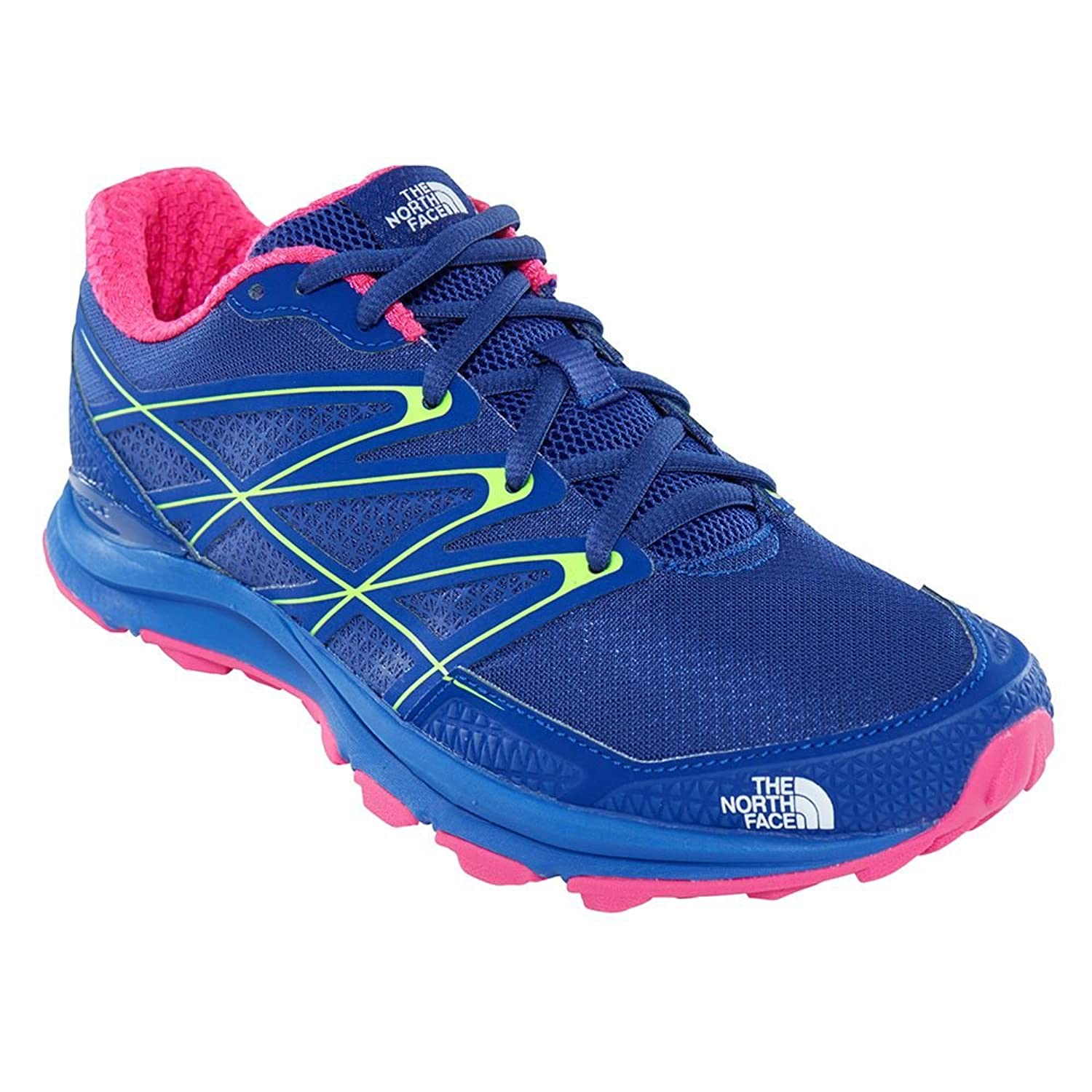 The North Face Damen W Litewave Endurance Fitnessschuhe Mehrfarbig (Sodalite Blue/Glo Pink 3tr)