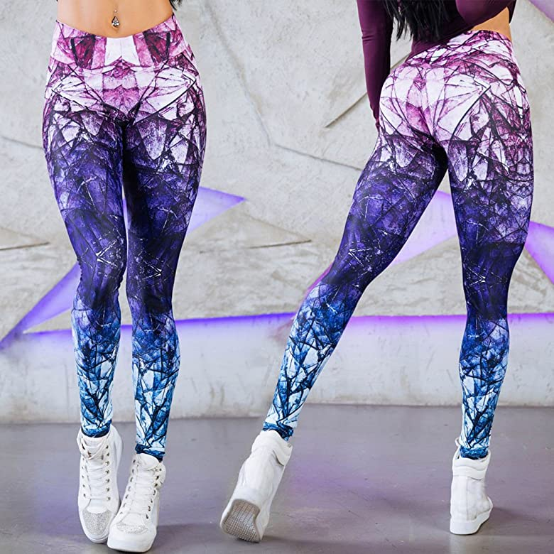 Lucardo Mallas Deportivas Mujer Pantalones Yoga Pilates ...