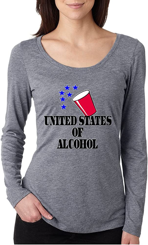 Allntrends Mens Usa Flag Drunk on Merica 4th of July