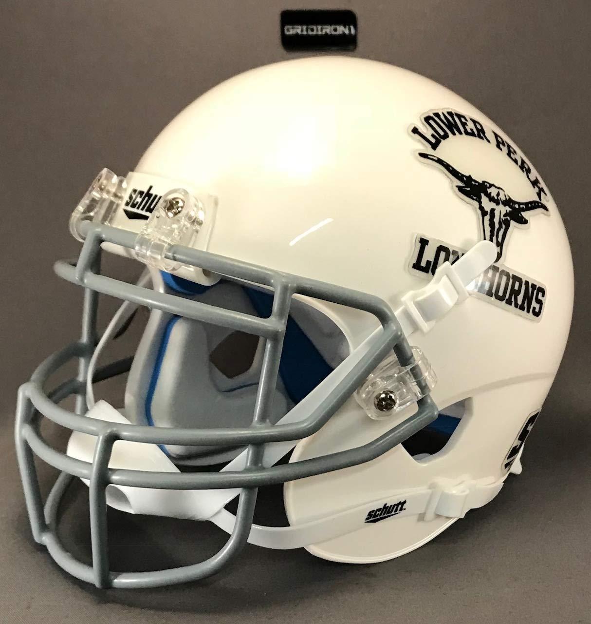 Lower Perk Longhorns 1963 Pennsylvania High School Football Mini Helmet