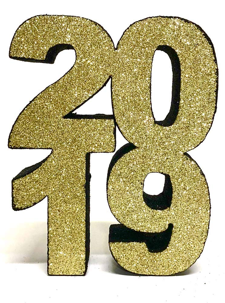 2019 Styrofoam Centerpiece (Gold/Black) by Awesome Event (Image #2)