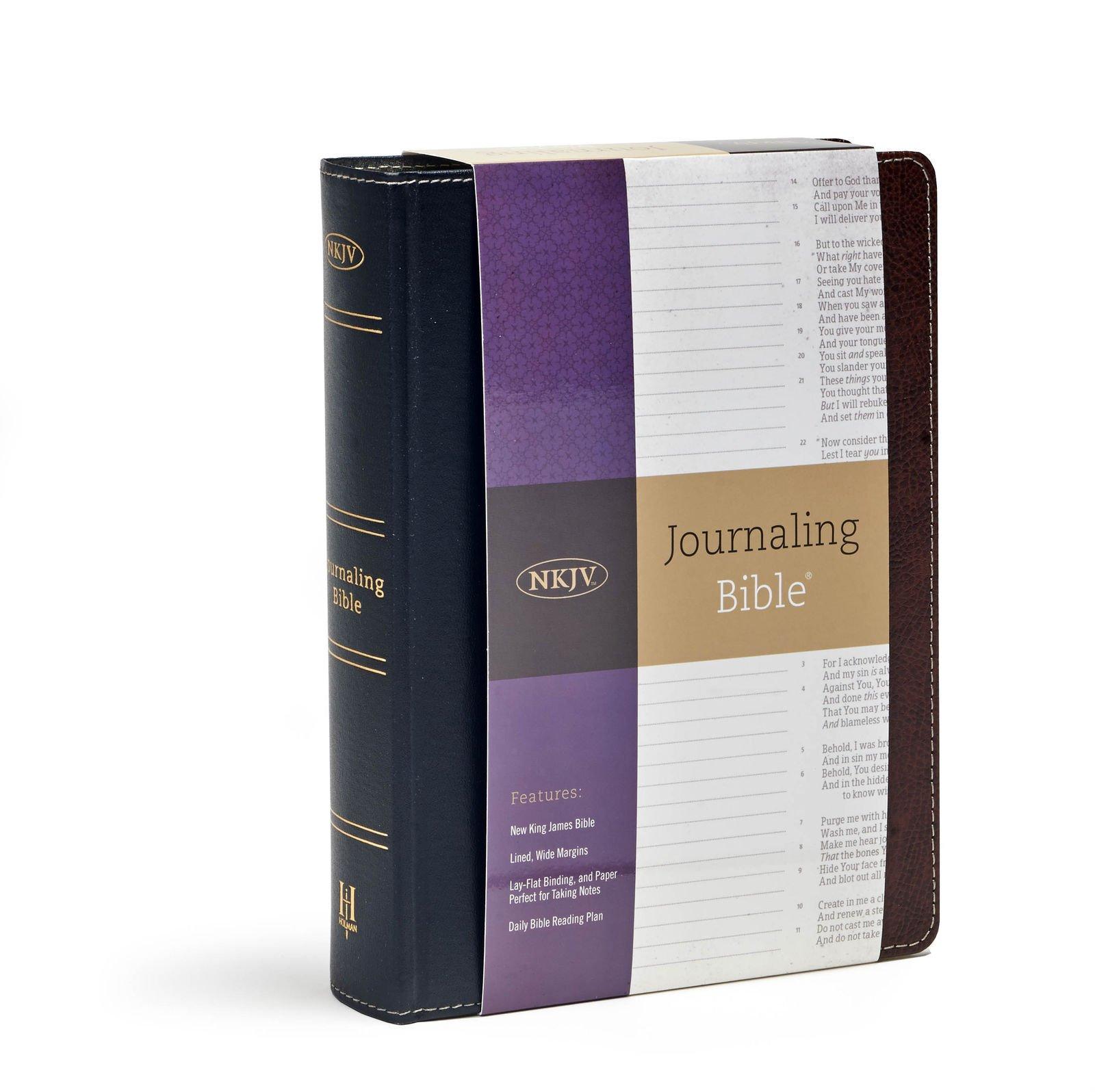 Nkjv Journaling Bible�: Holman Bible Staff: 9781433691584: Amazon: Books