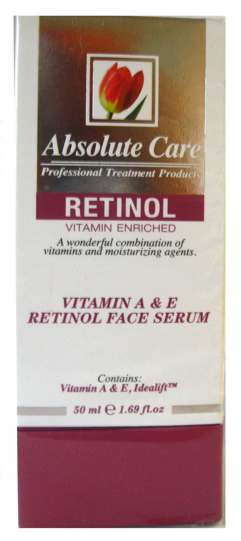 Amazon.com: Absolute Care Professional Treatment Retinol Vitamin A & E Face Serum: Beauty