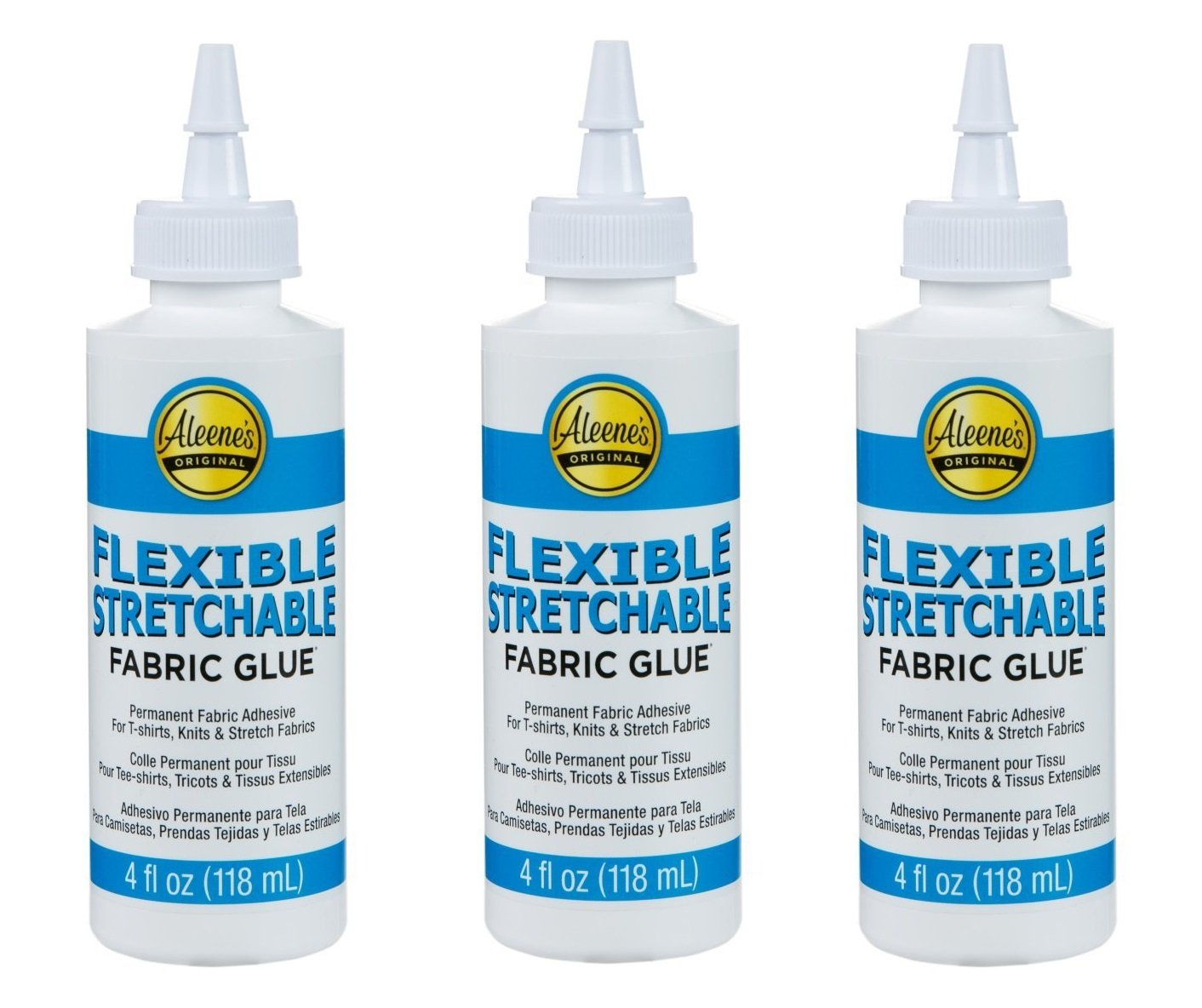 Aleene's Flexible Stretchable 4oz (3 Pack)