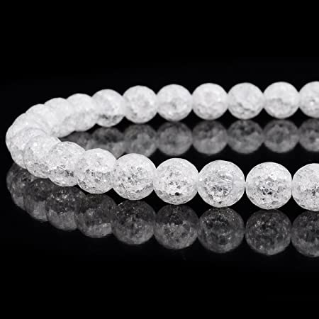 Natural Gemstone AAA Beads Can Be Personalized AAA Quality Gemstone White Quartz Beads Gemstone Jewelry Good Quality