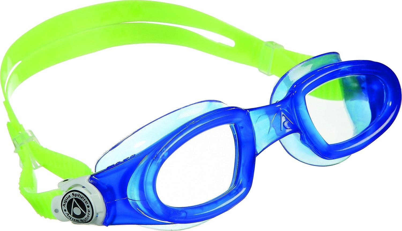 f72303a1f Aqua Sphere Unisex Adult Mako Swim Goggles, Blue/Lime, One Size:  Amazon.co.uk: Sports & Outdoors