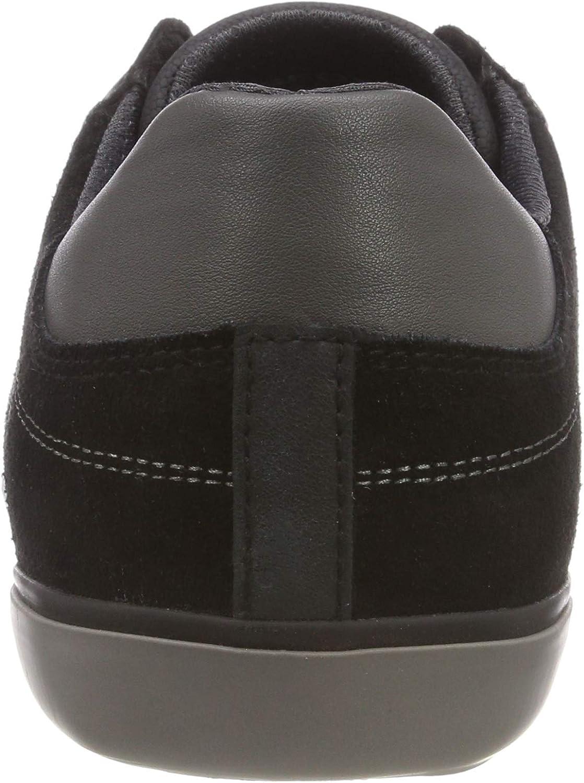 Geox U Box D, Zapatillas para Hombre Black Anthracite C9270