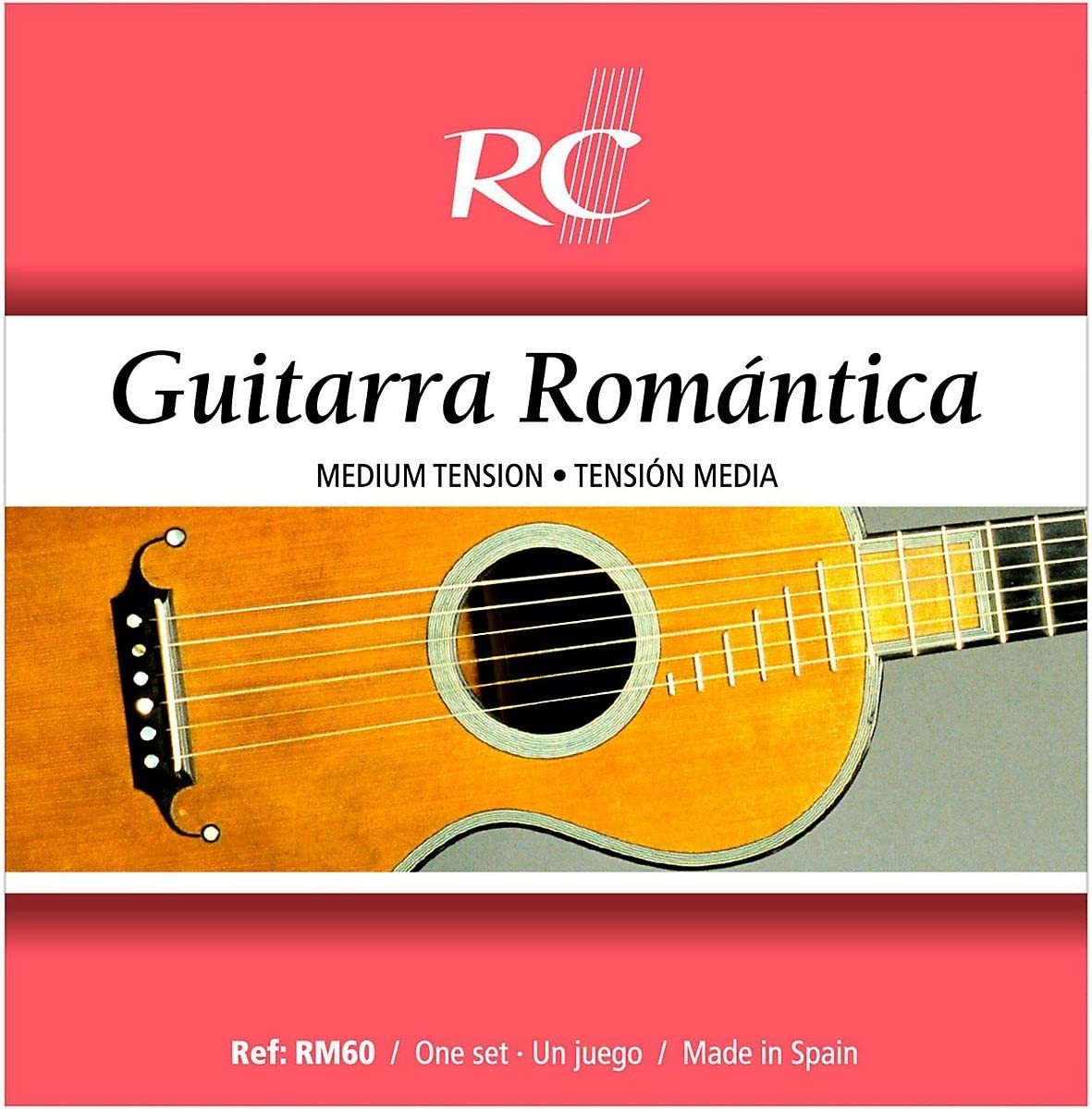 Royal Classsics RM60 - Cuerdas para guitarra, tensión media