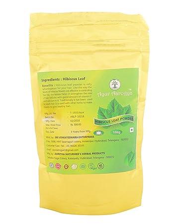 Buy Ayur Aarogya Hibiscus Leaf Powder Online At Low Prices In India