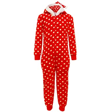 Amazon.com  Kids Girls Boys Christmas Onesie Extra Soft MR   MRS Santa  Claus All in ONE PJ s  Clothing 80cd9a303f9a