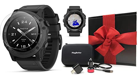 Amazon.com: Garmin tactix Charlie (Black/Titanium) Gift Box ...