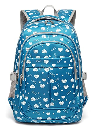 5a5ce1da15ba6e Amazon.com | Sweetheart Backpack for Girls Children Kids Schoolbag ...