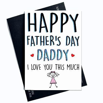 Tarjeta de felicitación para el día del padre para papá con ...