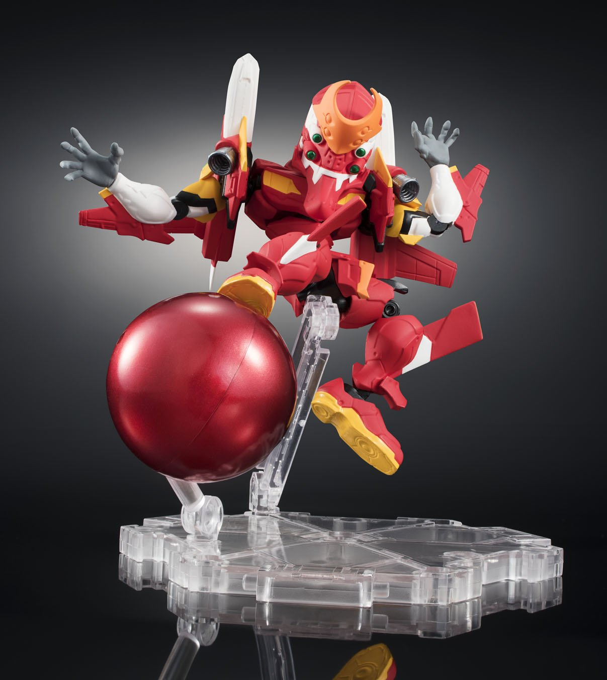 Bandai Tamashii Nations Nxedge Style Eva Unit-02 S-Type Equipment Evangelion Action Figure Bluefin Distribution Toys BAN16097
