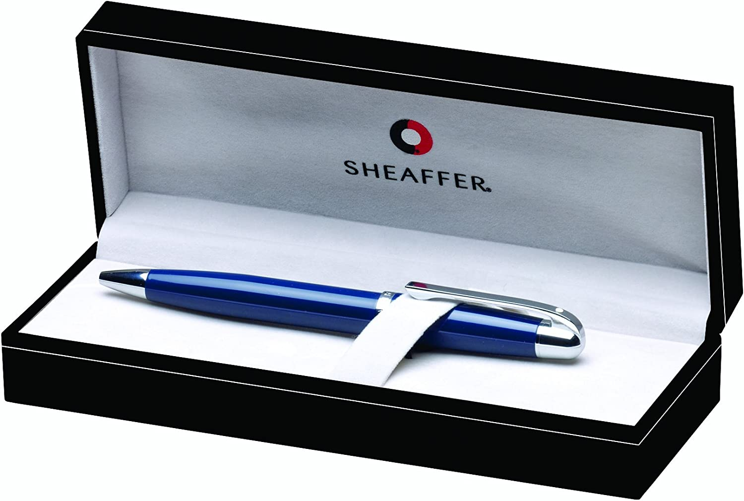 Sheaffer 500 Glossy Navy with Chrome Trim GC3 SH//9333-2 Ball Point with Blue Refill