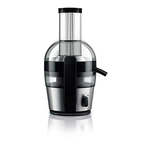Philips Viva Collection HR1863/20 2-Litre Juicer (Black/Silver) Centrifugal Juicers at amazon