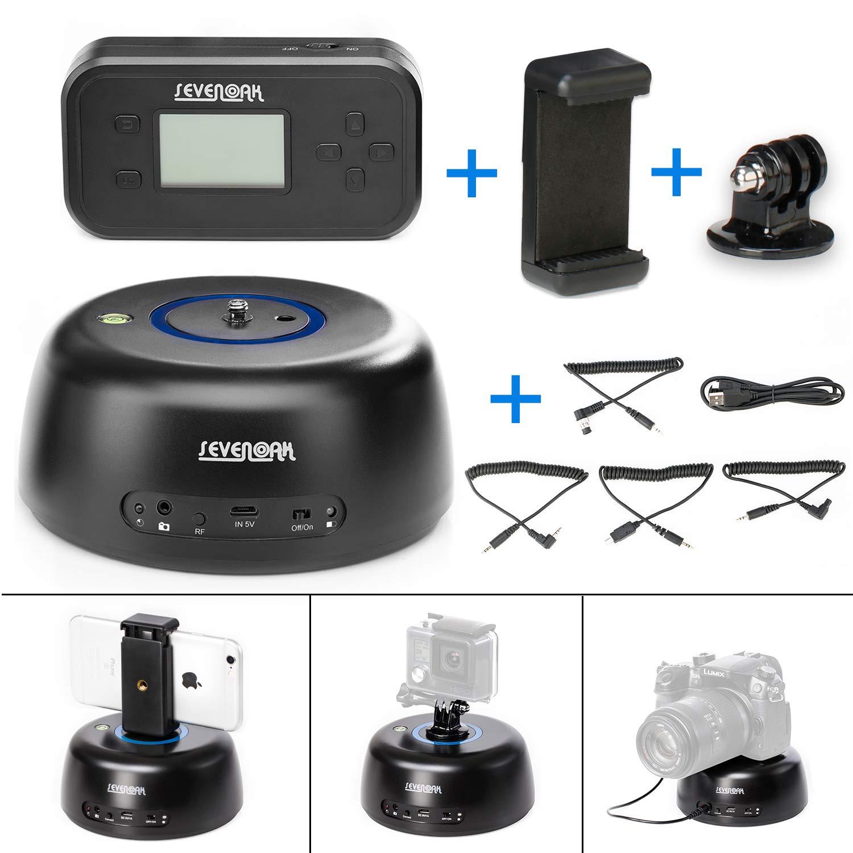 Sevenoakカメラヘッド  New Wireless Tripod Head with Remote Control B0714N8SZV
