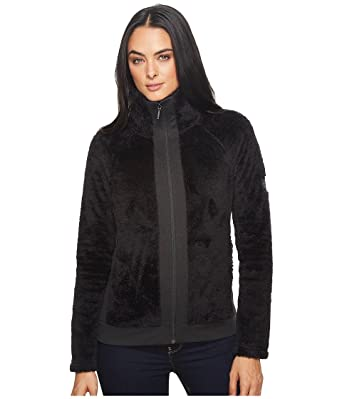 e35fcf940 The North Face Women's Furry Fleece Full Zip (TNF Black, Large) at ...