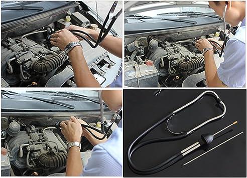 Auto Mechanics Stethoscope Car Engine Block Diagnostic Automotive Hearing Tool