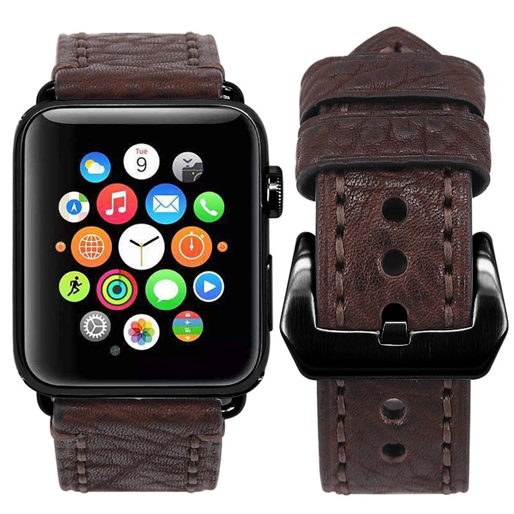 Amazon.com: Apple Watch Band 38mm iWatch Band Smart watch ...
